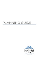Bright Event Rentals Planning Guide Cover Image