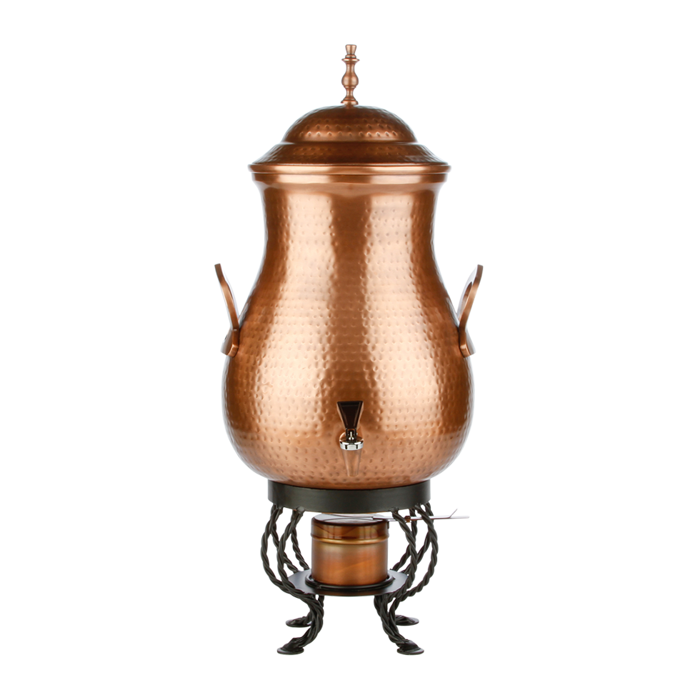 Hammered Copper Coffee Urn 100 Cup Rentals Bright Rentals