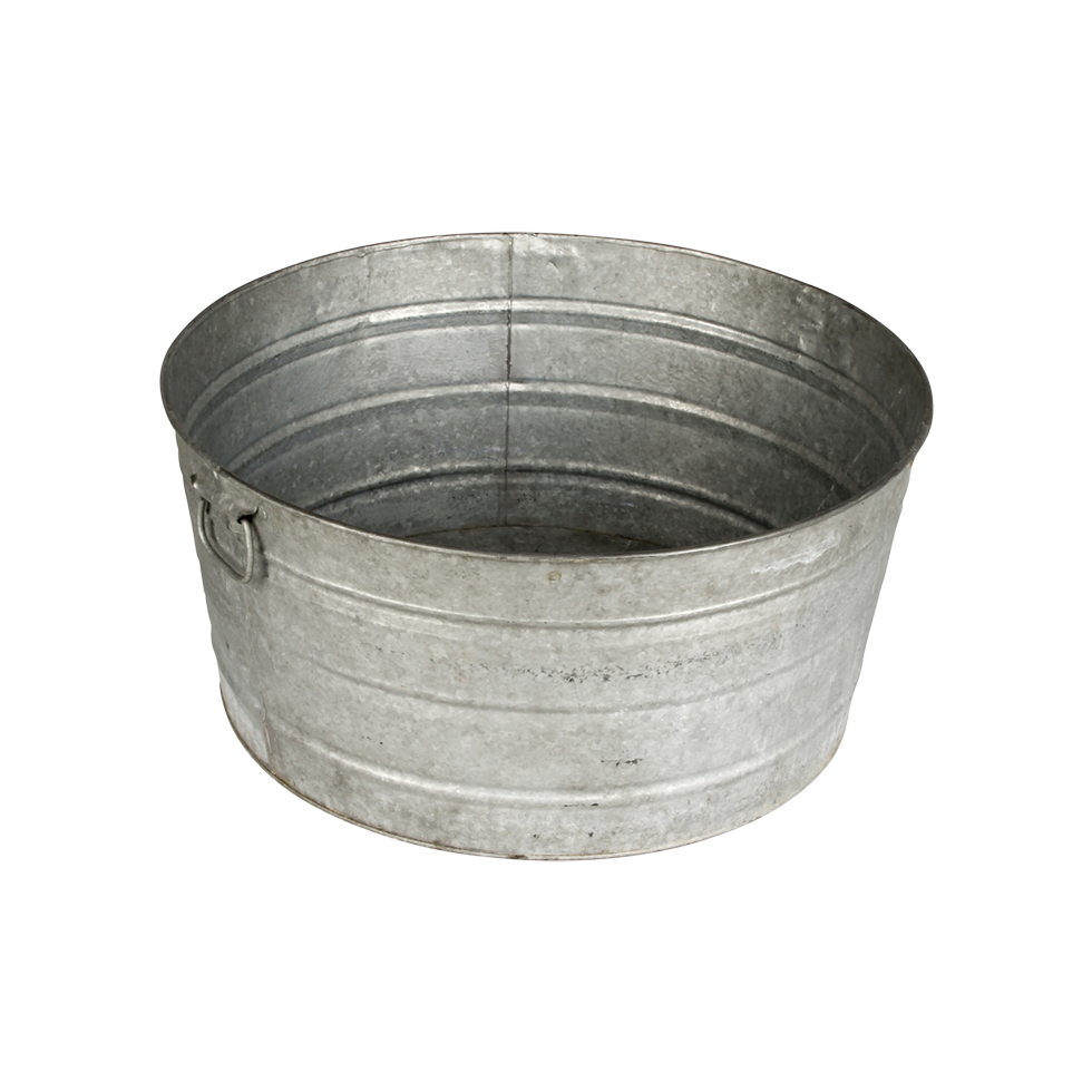 Galvanized Tub Rental Bright Rentals