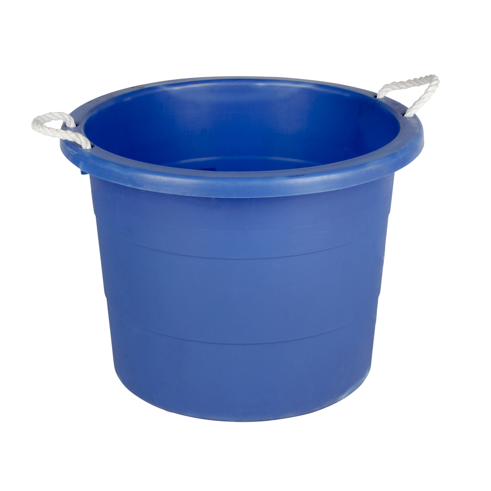20 gallon bucket. PLASTIC TUB 20 GALLON ROUND Gallon Bucket G