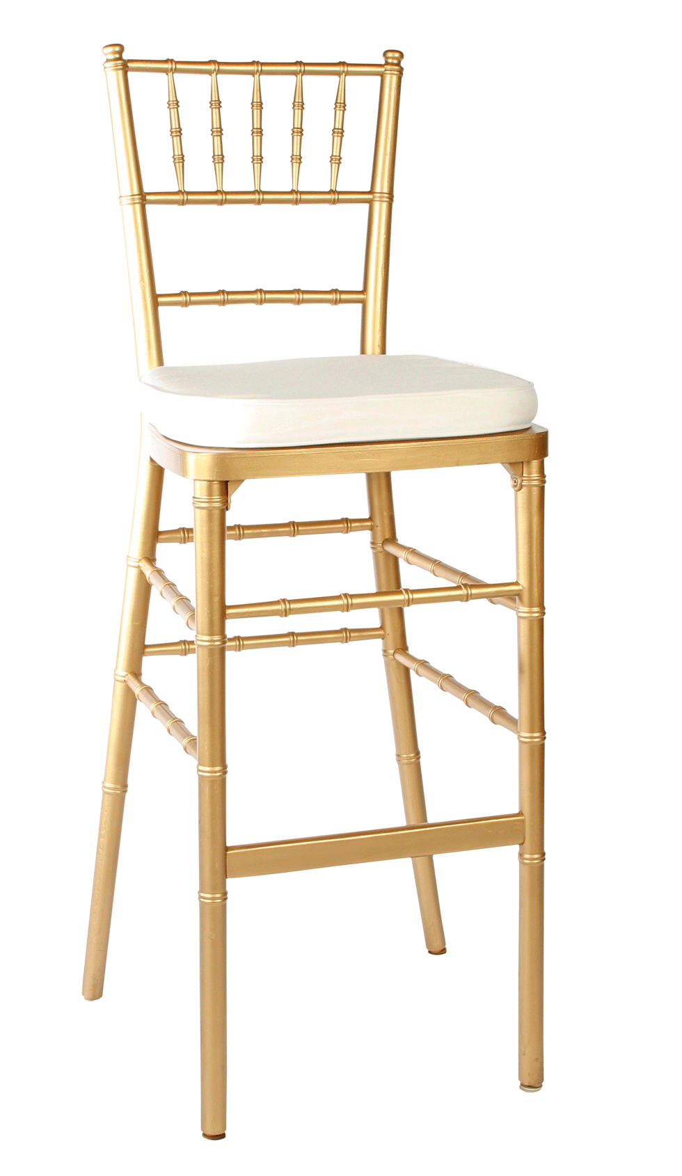 Chavari Gold Bar Stool Rental Bright Rentals