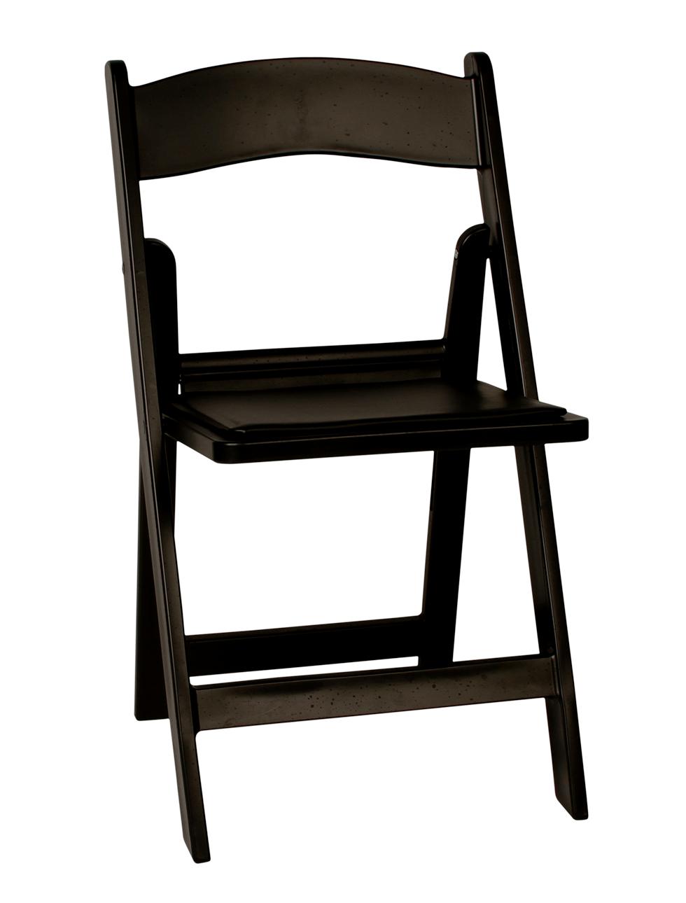 Resin Black Folding Chair Rental Bright Rentals