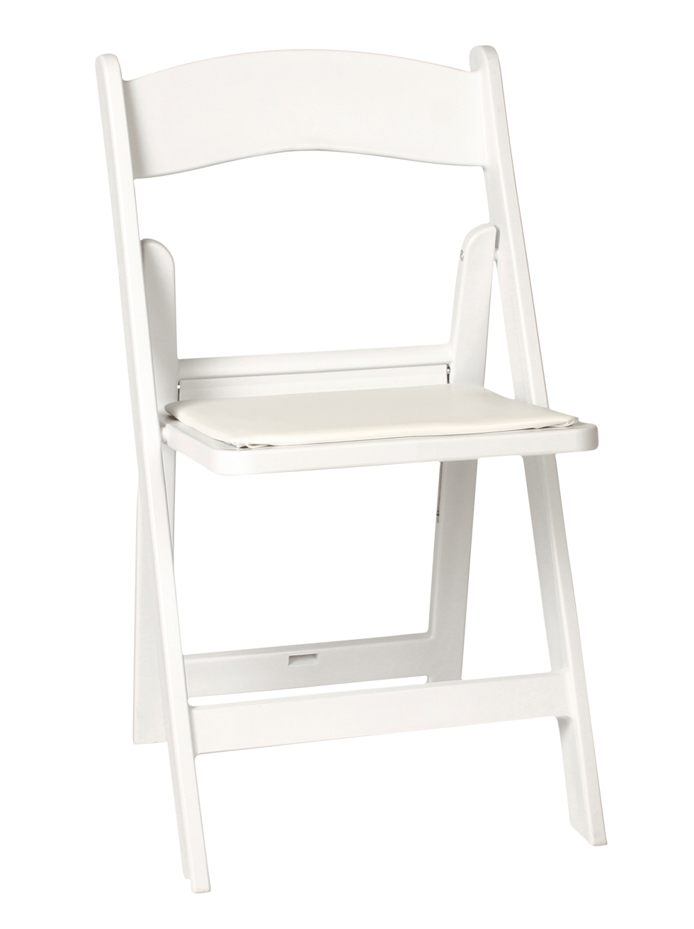 Resin White Folding Chair Rental Bright Rentals