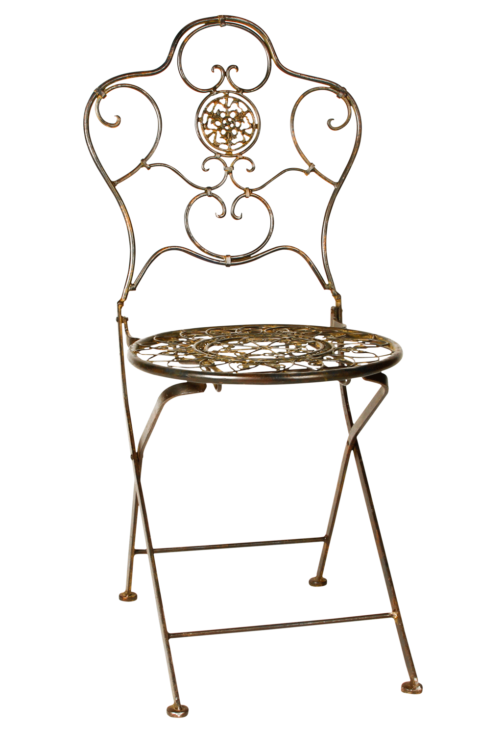 Bistro wrought iron chair rental bright rentals for Wrought iron cafe chairs