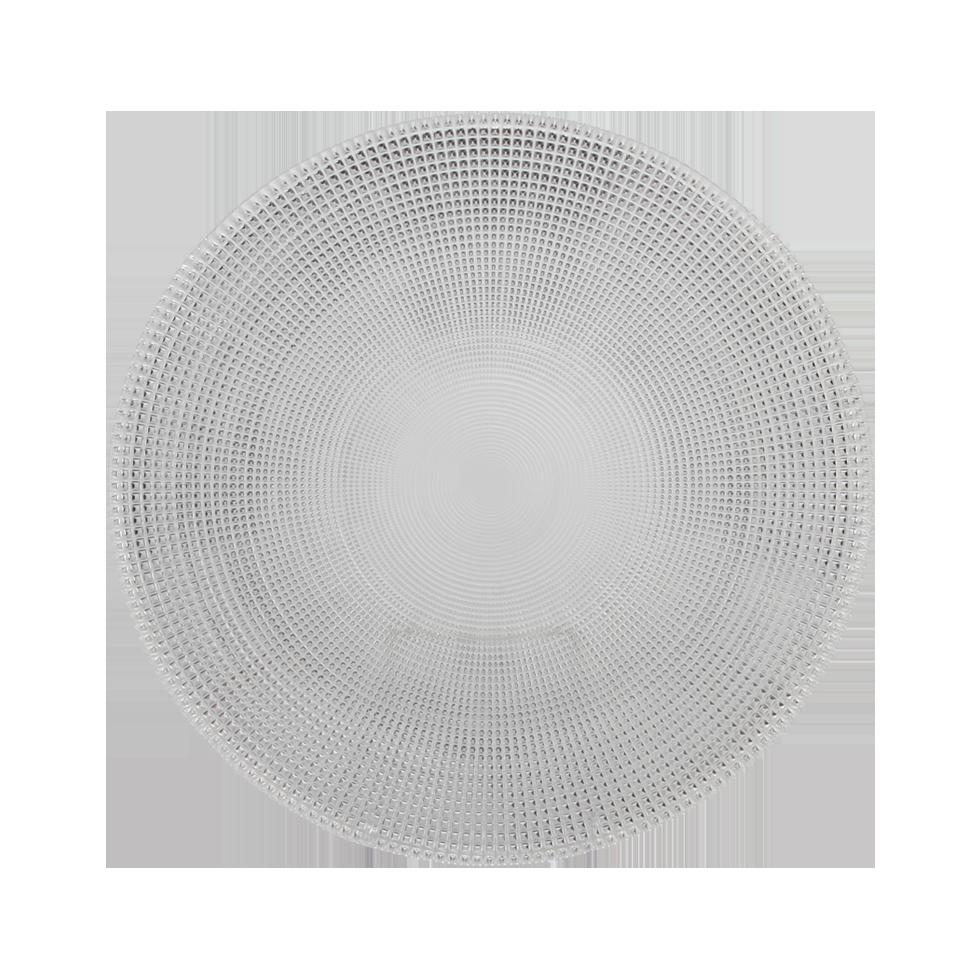 Riedel Galaxy Chop Plate 13 Quot Rental Bright Rentals