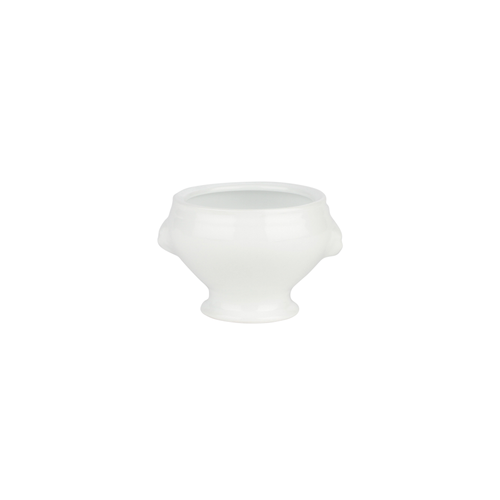 White Rim Footed Bowl 5 1 2 Quot Rental Bright Rentals