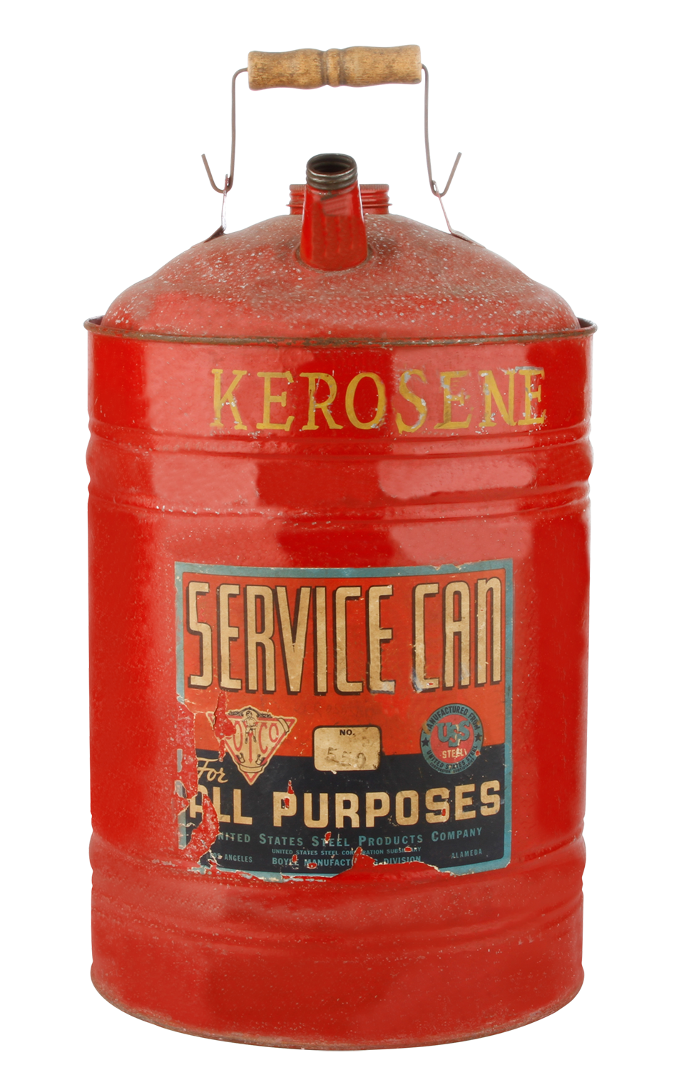 Kerosene Can Red 10 Quot X16 Quot Rental Bright Rentals