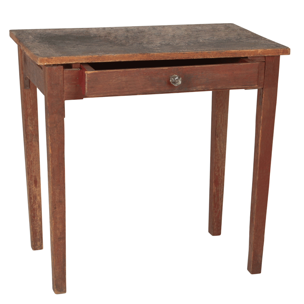 Brown Table With Drawer 27 Quot X 17 Quot X 28 Quot High Rentals