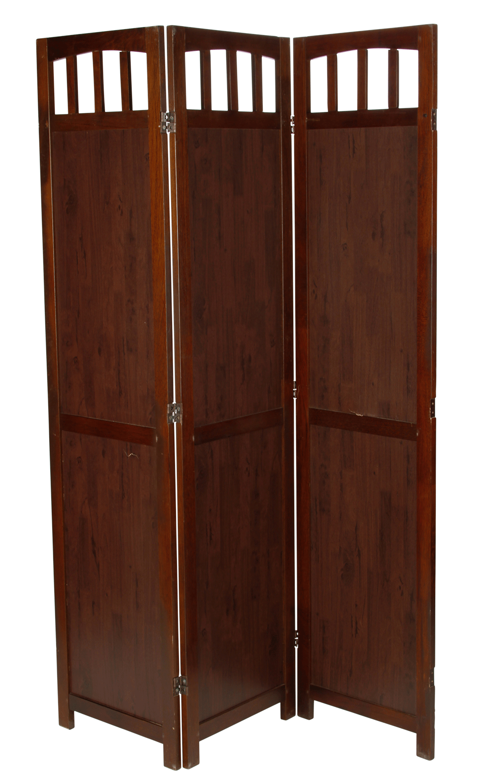 Dark Wood Room Divider Bright Rentals