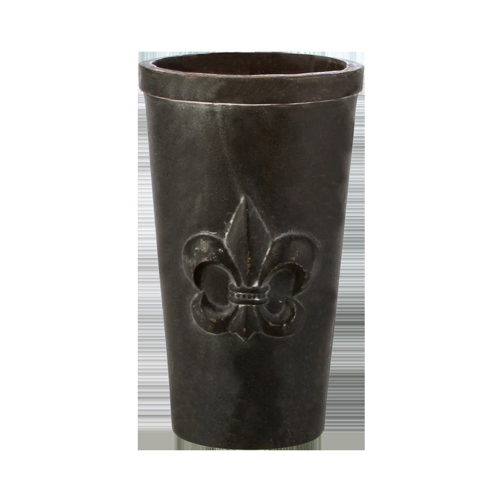 Cast Iron Fleur De Lis Vase 9 1 2 Quot Rentals Bright Rentals
