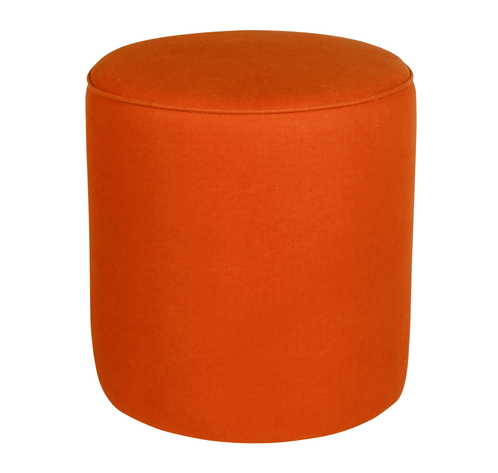 Metro Burnt Orange Stool Rental Bright Rentals