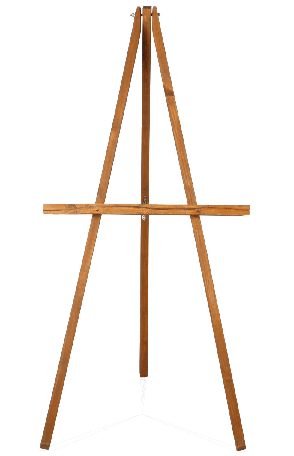 Oak Wood Easel 3 1 2 X 5 Rental Bright Rentals