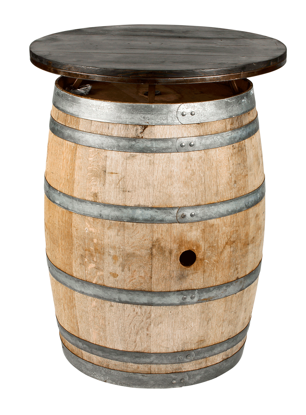 Wine Barrel Table Top 30 Quot Round Rentals Bright Rentals