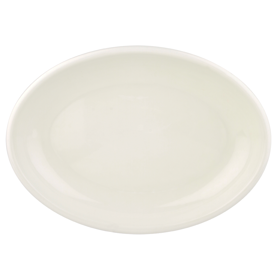 White Melamine Oval Tray 14 Quot X 20 Quot Rentals Bright Rentals