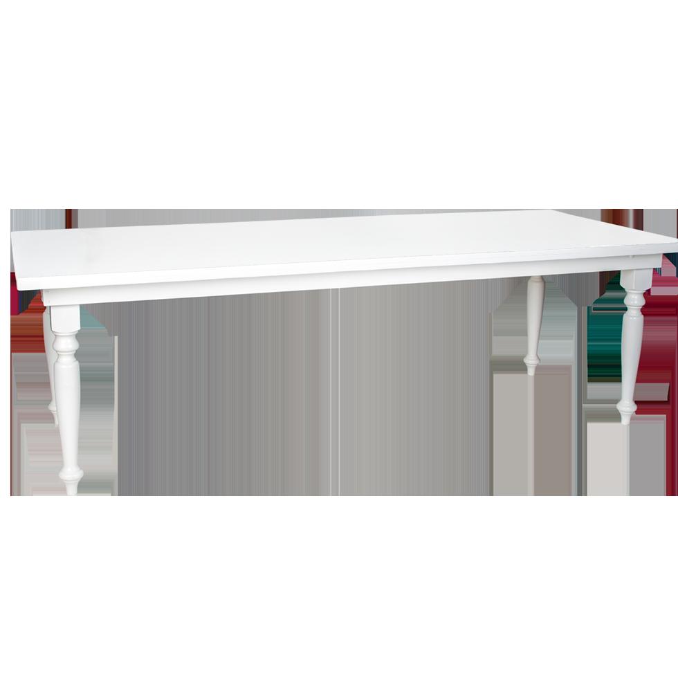 white farm table. WHITE TUSCAN FARM TABLE 8\u0027 X 40\ White Farm Table M
